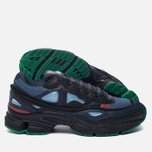 Мужские кроссовки adidas Originals x Raf Simons Ozweego 2 Night Marine/Black/Light Blue фото- 2
