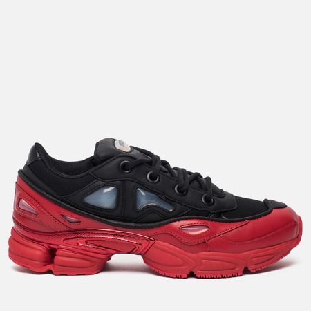 Мужские кроссовки adidas Originals x Raf Simons Ozweego III Core Black/Core Black/Scarlet