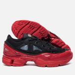 Мужские кроссовки adidas Originals x Raf Simons Ozweego III Core Black/Core Black/Scarlet фото- 1