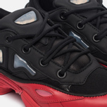 Мужские кроссовки adidas Originals x Raf Simons Ozweego III Core Black/Core Black/Scarlet фото- 3