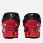 Мужские кроссовки adidas Originals x Raf Simons Ozweego III Core Black/Core Black/Scarlet фото- 5