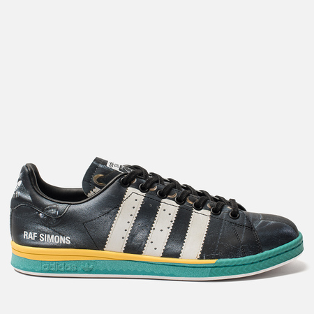 Мужские кроссовки adidas Originals x Raf Simons Samba Stan Core Black/Cloud White/Bright Blue