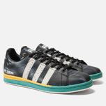 Мужские кроссовки adidas Originals x Raf Simons Samba Stan Core Black/Cloud White/Bright Blue фото- 2