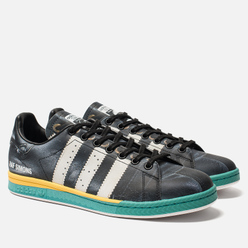 Мужские кроссовки adidas Originals x Raf Simons Samba Stan Core Black/Cloud White/Bright Blue
