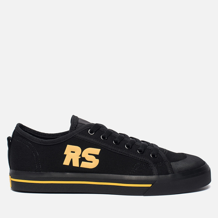 Мужские кроссовки adidas Originals x Raf Simons Spirit Low Black/Black/Core Yellow