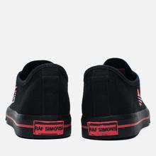 Кроссовки adidas Originals x Raf Simons Matrix Spirit Low Black/Red фото- 2