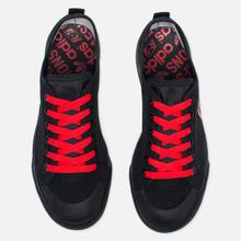 Кроссовки adidas Originals x Raf Simons Matrix Spirit Low Black/Red фото- 1