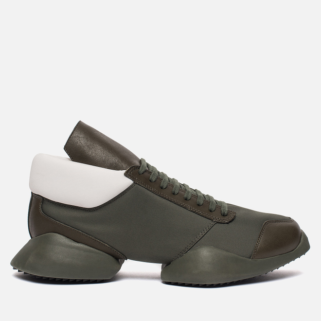 Мужские кроссовки adidas Originals x Rick Owens Runner Earth Green/Earth Green/Ro Milk