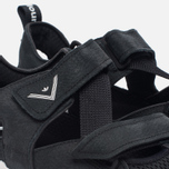 Мужские кроссовки adidas Originals x White Mountaineering ADV Sandals Core Black/White фото- 3