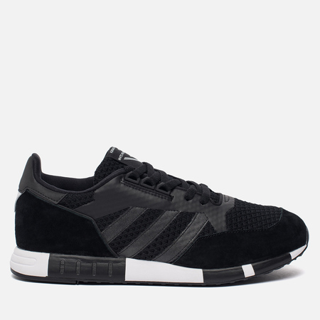 Мужские кроссовки adidas Originals x White Mountaineering Boston Super Primeknit Core Black/White