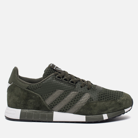 Мужские кроссовки adidas Originals x White Mountaineering Boston Super Primeknit Night Cargo/White