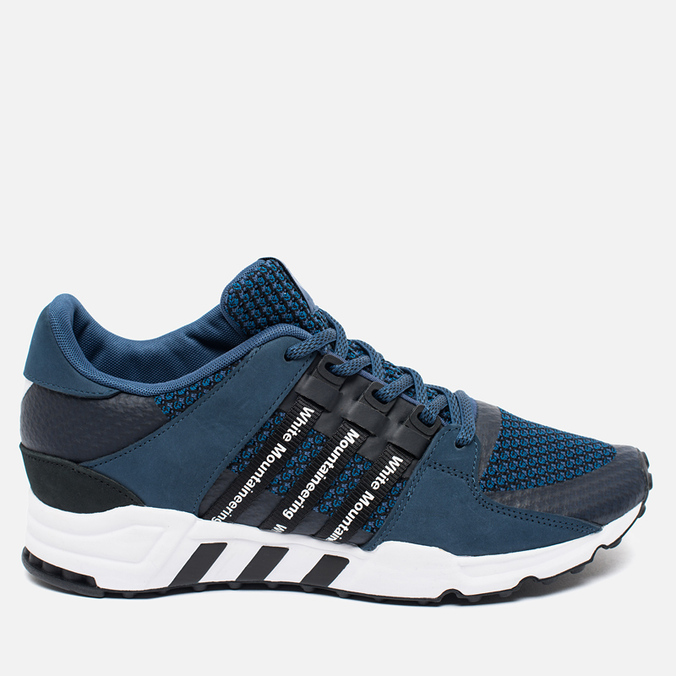 Мужские кроссовки adidas Originals x White Mountaineering EQT Running Blue/White/Black