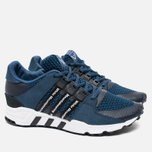 Мужские кроссовки adidas Originals x White Mountaineering EQT Running Blue/White/Black фото- 2