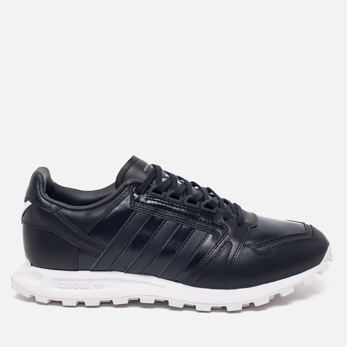 Мужские кроссовки adidas Originals x White Mountaineering Formel 1 Navy/White