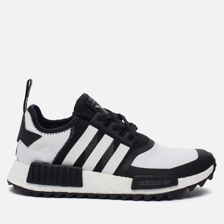 Мужские кроссовки adidas Originals x White Mountaineering NMD R1 Trail Primeknit Core Black/White