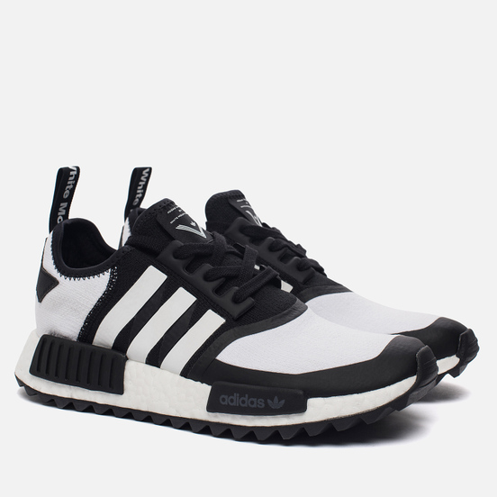 Мужские кроссовки adidas Originals x White Mountaineering NMD R1 Trail Primeknit Core Black/White