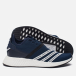 Мужские кроссовки adidas Originals x White Mountaineering NMD R2 Primeknit Collegiate Navy/White фото- 1