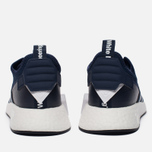 Мужские кроссовки adidas Originals x White Mountaineering NMD R2 Primeknit Collegiate Navy/White фото- 5