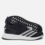 Мужские кроссовки adidas Originals x White Mountaineering NMD R2 Primeknit Core Black/White фото- 2