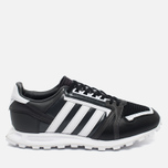 Мужские кроссовки adidas Originals x White Mountaineering Racing 1 Black/White фото- 0