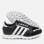 Мужские кроссовки adidas Originals x White Mountaineering Racing 1 Black/White фото- 2