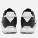 Мужские кроссовки adidas Originals x White Mountaineering Racing 1 Black/White фото- 5