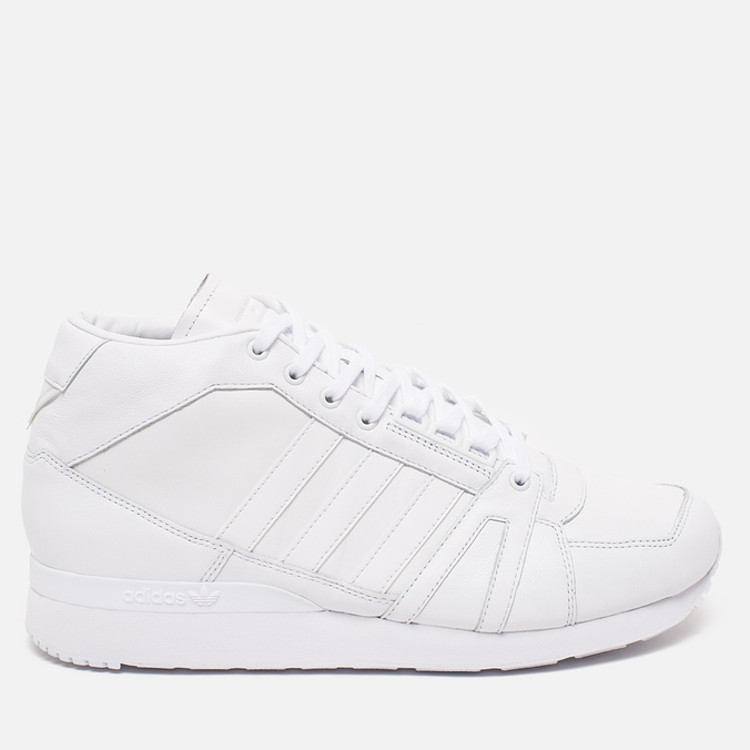 Мужские кроссовки adidas Originals x White Mountaineering ZX 500 Hi White/White