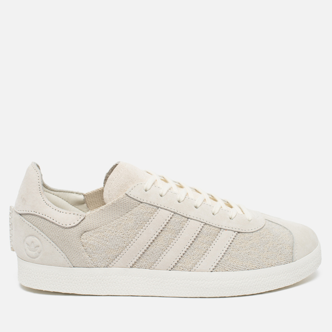 Мужские кроссовки adidas Originals x Wings + Horns Gazelle OG Off White