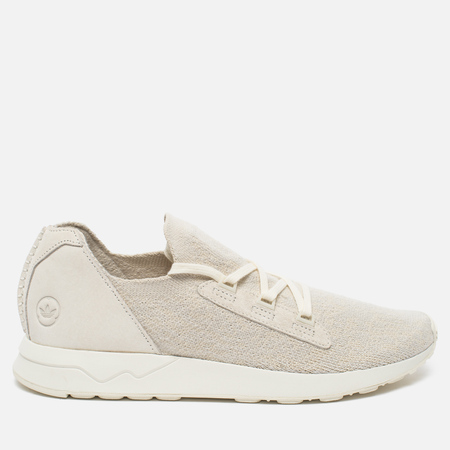 adidas Originals x Wings + Horns ZX Flux X Men's Sneakers Off White