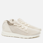 Мужские кроссовки adidas Originals x Wings + Horns ZX Flux X Off White фото- 1