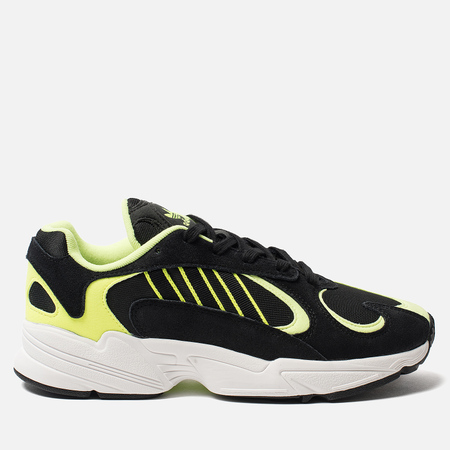 Мужские кроссовки adidas Originals Yung-1 Core Black/Core Black/Hi-Res Yellow