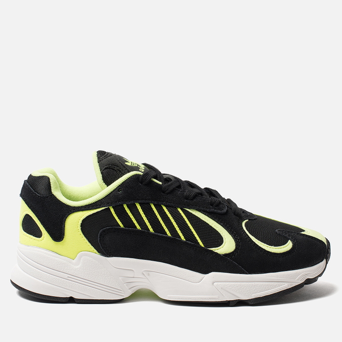 Мужские кроссовки adidas Originals Yung-1 Core Black/Core Black/Hi-Res Yellow