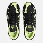 Мужские кроссовки adidas Originals Yung-1 Core Black/Core Black/Hi-Res Yellow фото- 5