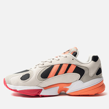 Мужские кроссовки adidas Originals Yung-1 Core Black/Semi Coral/Raw White фото- 5