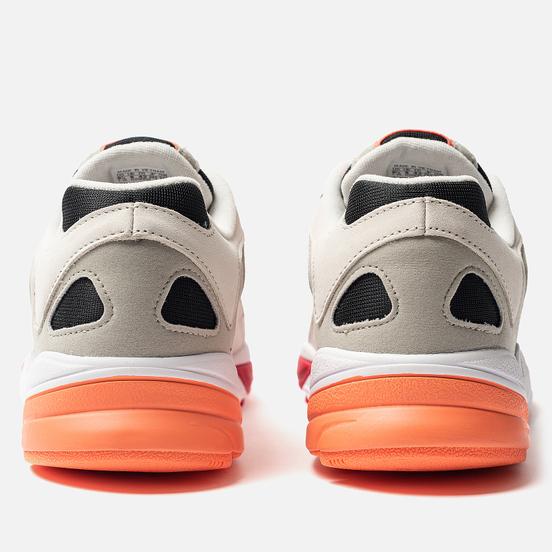 Мужские кроссовки adidas Originals Yung-1 Core Black/Semi Coral/Raw White