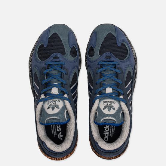 Мужские кроссовки adidas Originals Yung-1 Legend Ink/Tech Indigo/Grey Two