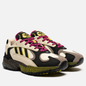 Мужские кроссовки adidas Originals Yung-1 Sand/Core Black/Shock Pink фото - 0