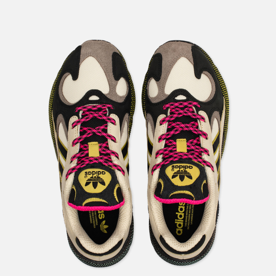 Мужские кроссовки adidas Originals Yung-1 Sand/Core Black/Shock Pink