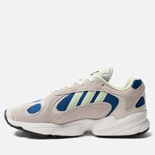 Мужские кроссовки adidas Originals Yung-1 White/Glow Green/Collegiate Royal фото- 5