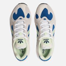 Мужские кроссовки adidas Originals Yung-1 White/Glow Green/Collegiate Royal фото- 1