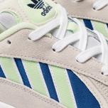 Мужские кроссовки adidas Originals Yung-1 White/Glow Green/Collegiate Royal фото- 6