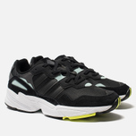 Мужские кроссовки adidas Originals Yung-96 Core Black/Core Black/Clear Mint фото- 2