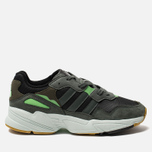 Мужские кроссовки adidas Originals Yung-96 Core Black/Legend Ivy/Raw Ochre фото- 0