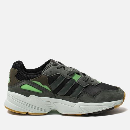 Мужские кроссовки adidas Originals Yung-96 Core Black/Legend Ivy/Raw Ochre