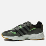 Мужские кроссовки adidas Originals Yung-96 Core Black/Legend Ivy/Raw Ochre фото- 1