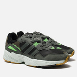 Мужские кроссовки adidas Originals Yung-96 Core Black/Legend Ivy/Raw Ochre фото- 2