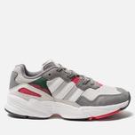 Мужские кроссовки adidas Originals Yung-96 Grey One/Crystal White/Act Pink фото- 0