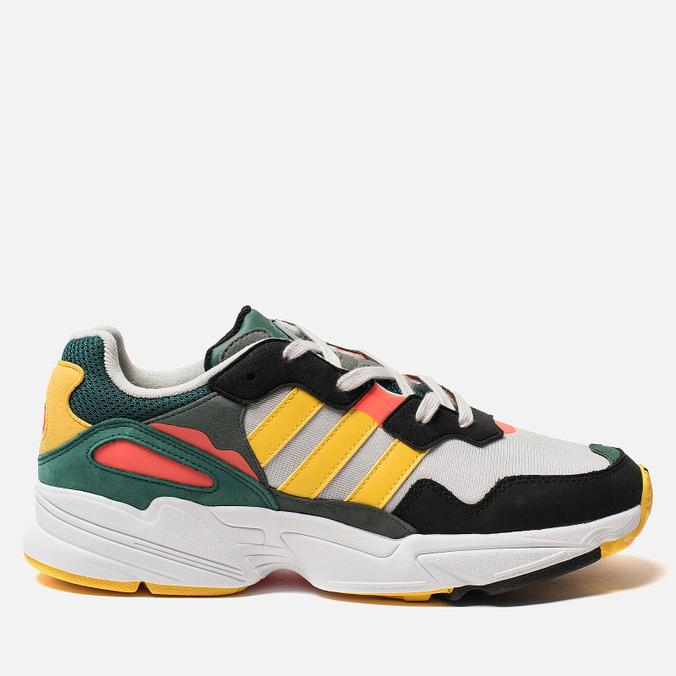 Мужские кроссовки adidas Originals Yung-96 Grey One/Gold/Solar Red