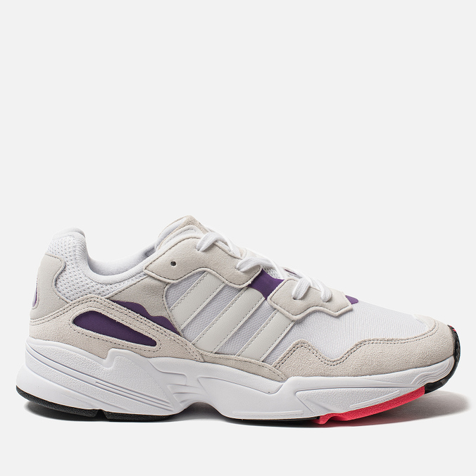 Мужские кроссовки adidas Originals Yung-96 White/Crystal White/Active Purple