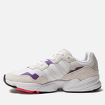 Мужские кроссовки adidas Originals Yung-96 White/Crystal White/Active Purple фото- 1